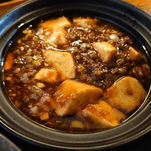 金沢市八日市にあるChina dining 宮燕(クーイン)で、麻婆豆腐と担々麺ランチ+杏仁豆腐。