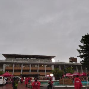 2020シーズン初、西部緑地公園でツエーゲン金沢の試合を生観戦。スタグルもしっかりと。