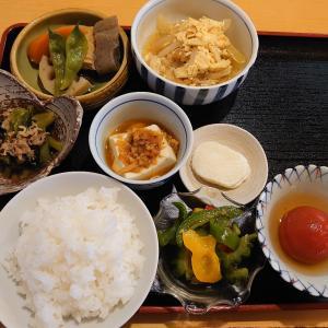久々に金沢市米泉町ごはん家で、丁寧に作られた品数豊富なおまかせ定食。