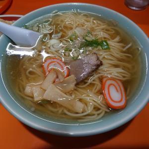 王道の町中華。金沢市米丸町にある中華一龍で、シンプルなラーメンとヤキメシ。