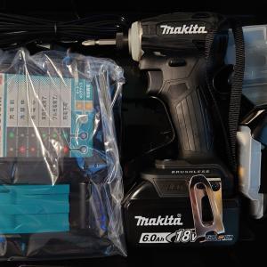 マキタのインパクトドライバー、TD172の黒色を購入。