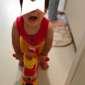 双子の運動神経の差(1歳5ヶ月)