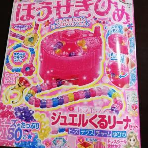 """幼児向け雑誌""""ほうせきひめ""""(3歳4ヶ月)"""