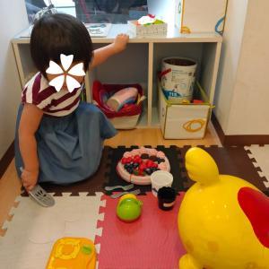 定期の歯科検診を受けに(娘3歳8ヶ月)