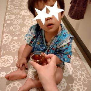 双子弟、真夜中の嫌なルーティン(1歳8ヶ月)
