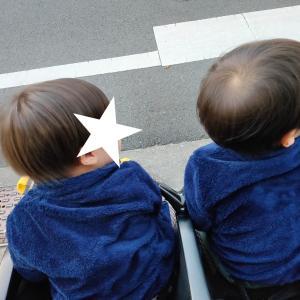 保育園の帰り、双子が楽しみにしてる事