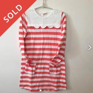 メルカリで売れた子供服。