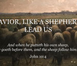羊飼いのごとく