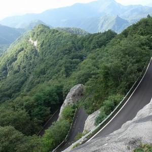 岩出山へ  二口林道