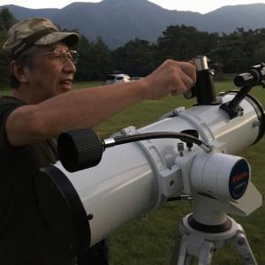 天体観測 in キャンプ