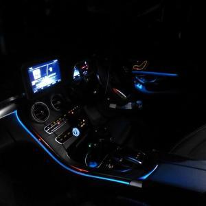 BMW 3シリ G20のイルミをメルセデスW205で再現
