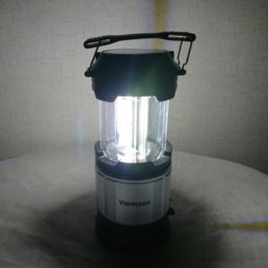 懐中電灯とランタンを一台で装備 日常使用から災害時の防災グッズにもなる必須アイテム