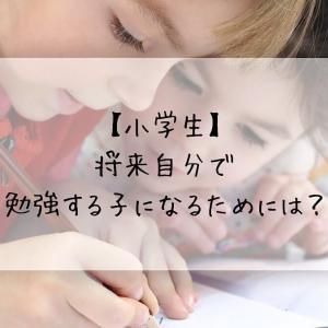 【小学生】将来自分で勉強する子になるためには?