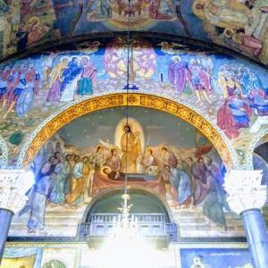 【ブルガリア】ソフィア市内を終日観光 聖ネデリャ教会など