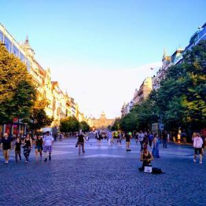 世界一の街並み!プラハ中心部をゆったり散策|新市街も魅力的な街でした!