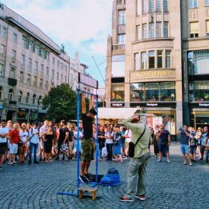 プラハ新市街でコスパ最強のゲストハウスとチェコの犬事情|チェコ観光6日目