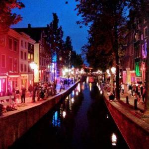 アムステルダム市内を観光|飾り窓も潜入!【オランダ1日目】No.85