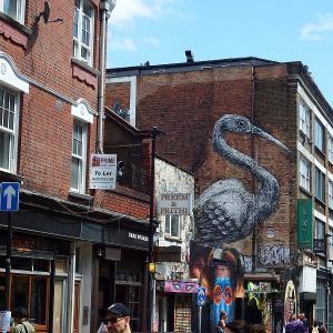 ブリック・レーン・マーケット(Brick Lane Market)はブリティッシュでないロンドンが楽しめる場所!