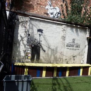 ロンドンでバンクシー巡りお勧め5選!バンクシー(Banksy)アートが鑑賞できる場所行ってきました!見れなくなる場所もあるのでお早めに!