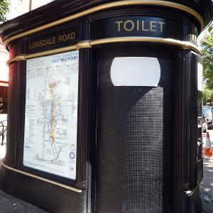 ロンドンのトイレ事情説明します。無料/有料トイレの探し方・使い方
