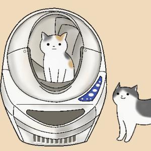 猫の全自動トイレ 【キャットロボットオープンエアー】多頭飼いの方は必見!毎日のトイレ掃除が無くなります。