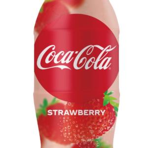 【朗報】早くも春の装い。世界初!コカ・コーラから期間限定でストロベリーフレーバーのコークが発売されたよ!