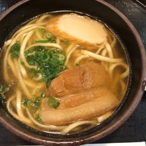 寒い時は食べたいな。那覇空港でのそば日記。
