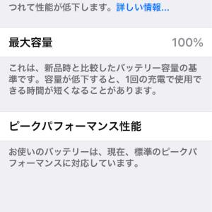 iPhone6s延命措置の編
