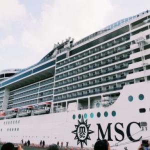 【2018】MSCスプレンディダ旅行記~船の全容と船内内装~