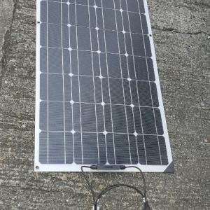 120wソーラーパネルを追加する