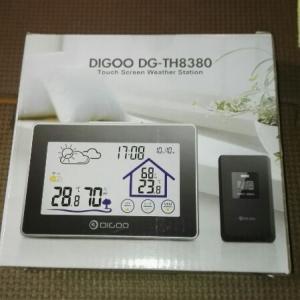 ワイヤレスリモコン付き、温度、湿度計