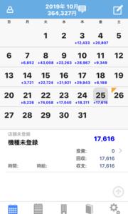 【MAM1】10月25日の利益は1.7万円の利益。