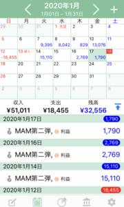 最低資金50万円からの運用レポート34日目!