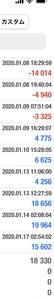 【MAM1+MAM2】1月22日の利益は4.9万円です。