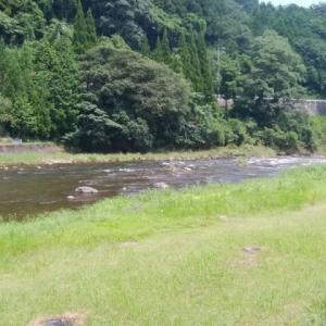 神戸川鮎釣り
