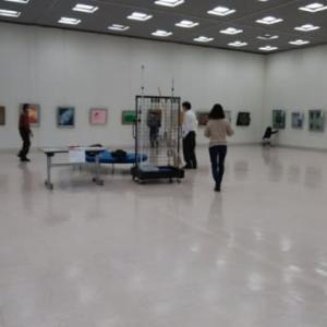 今日から日本画展