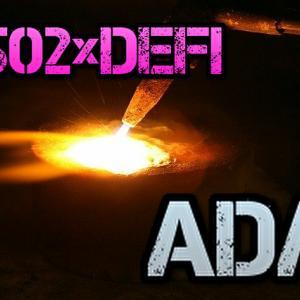 【Z502】DeFiプロジェクトD502のステーキングペアが発表され爆上げ…ついに1sat越え【ADA】
