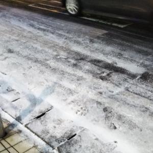 今年も来ましたアイスバーン、路面凍結注意