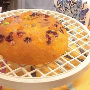 めちゃうま炊飯器でかぼちゃ蒸しパン