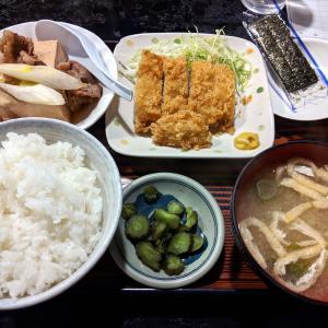 昭和の雰囲気漂う居酒屋でランチ【村役場】