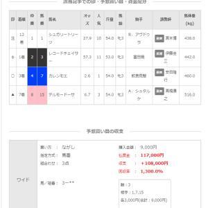 4/29(月)本日2的中(^^ )