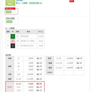 5/18(土)本日2的中(><)