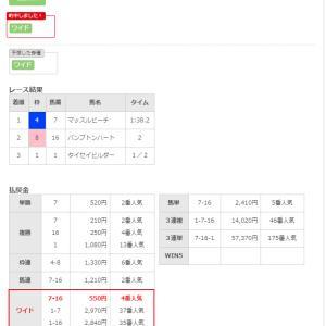 5/19(日)本日3的中(^^)JRA入出金記録公開