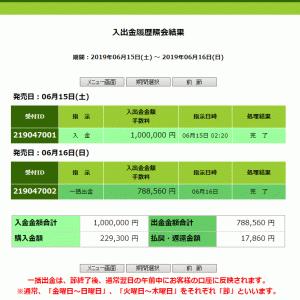 6/15(土)6/16(日)今週1的中(><)