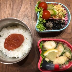 7月10日。今日の娘のお弁当(o^^o)
