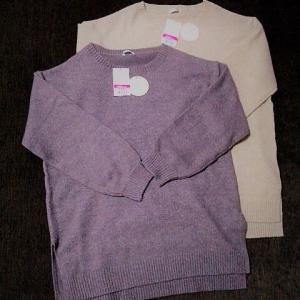 調子にのって、また安いセーターを買いました🤪👌
