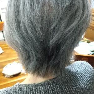 母の髪をカットしました💇♀️✨