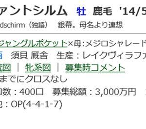 ☆2014年度産駒_20200114(ヴァントシルム)☆