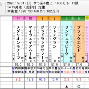 ☆WIN5 No. 499+日本ダービー他☆