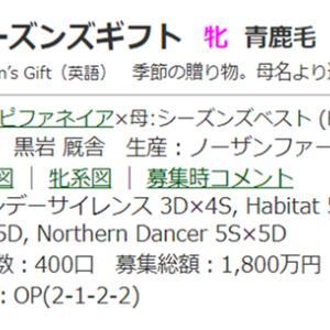 ☆2017年度産駒_20210112(シーズンズギフト)☆